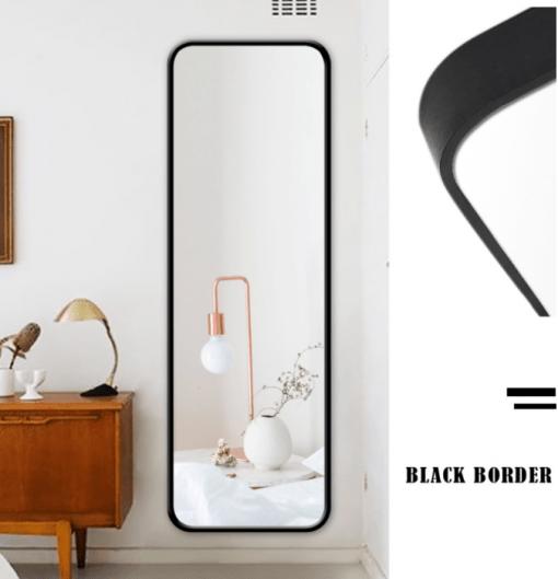 Black Border Full Length Mirror